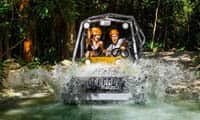 Drive an amphibious vehicle through the Mayan jungle and enjoy a great adventure!