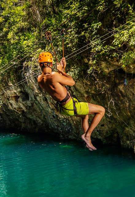 Aquatic Zip-lines | Xplor Packages