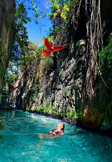 Underground Rivers Xcaret | Xplor Packages