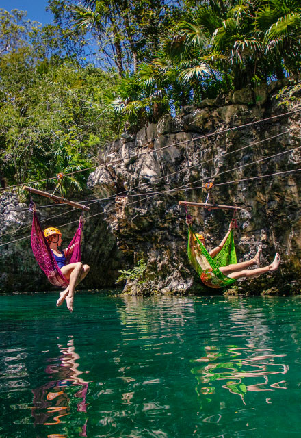 Hammock Splash | Xplor Packages